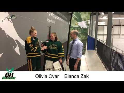 Olivia Cvar and Bianca Zak - Balmoral Hall