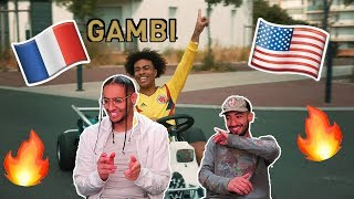 AMERICANS FIRST REACTION TO FRENCH RAP /HIP-HOP * Gambi - Hé oh (Clip officiel) *
