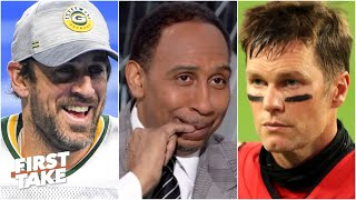 Stephen A.: I'm jumping off the Bucs' bandwagon, I'm rolling with Aaron Rodgers | First Take
