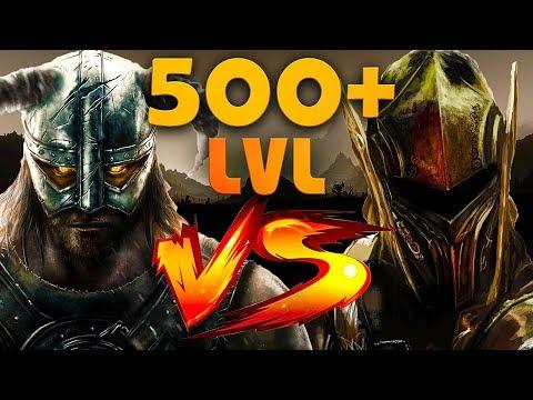 Skyrim Эбонитовый Воин На 500+ Уровне Ebony Warrior