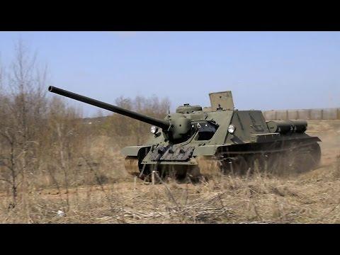 СУ-100 - восстановление легендарной ПТ САУ