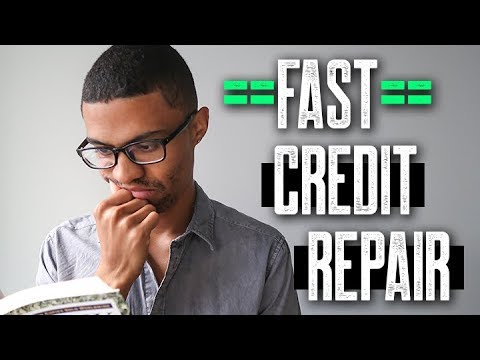 Speed Up The Credit Repair Process Need Good Credit Fast 609