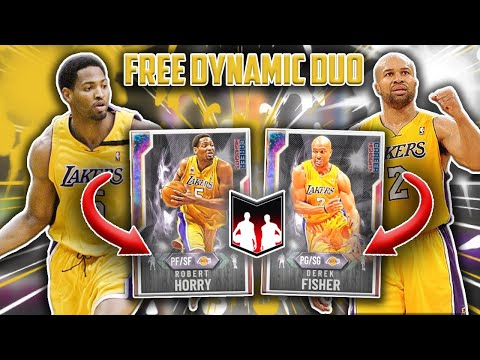 THIS *FREE* DYNAMIC DUO IS THE BEST NEW DUO IN THE GAME! GALAXY OPAL DEREK FISHER AND ROBERT HORRY!