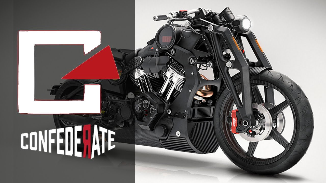 P51 Combat Fighter by Confederate | Motorcycle Concept Custom Review