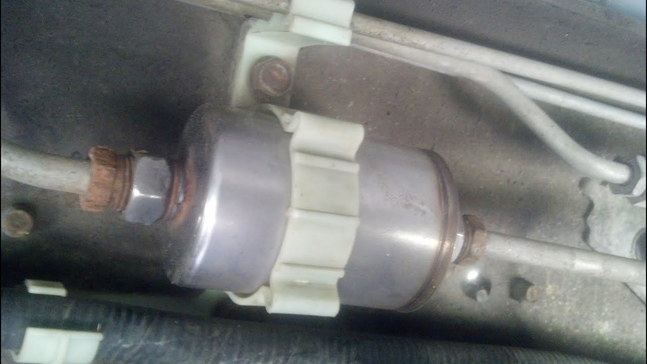 hight resolution of 96 98 chevy c k pickup fuel filter replacement