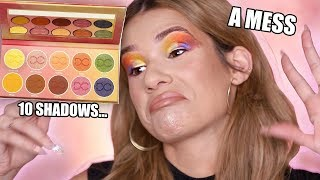I TRIED USING EVERY EYESHADOW IN THE PALETTE CHALLENGE!