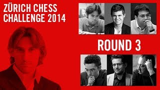 Zuerich Chess Challenge 2014 Round 3 Hikaru Nakamura vs Magnus Carlsen