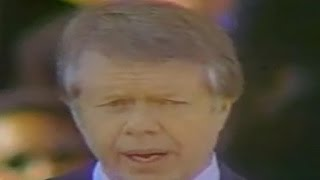 Jimmy Carter inaugural address: Jan. 20 1977