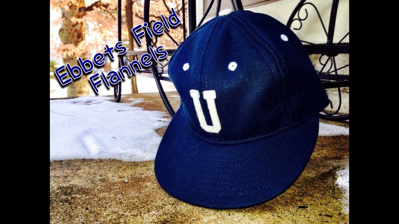 8242ec7b Ebbets Field Flannels Hat Review - YouTube