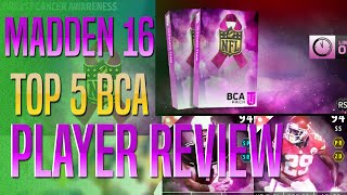 Madden 16 Tips - Top 5 New BCA Player Reviews in MUT!