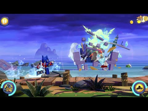 Angry Birds Transformers: Official Gameplay Trailer!