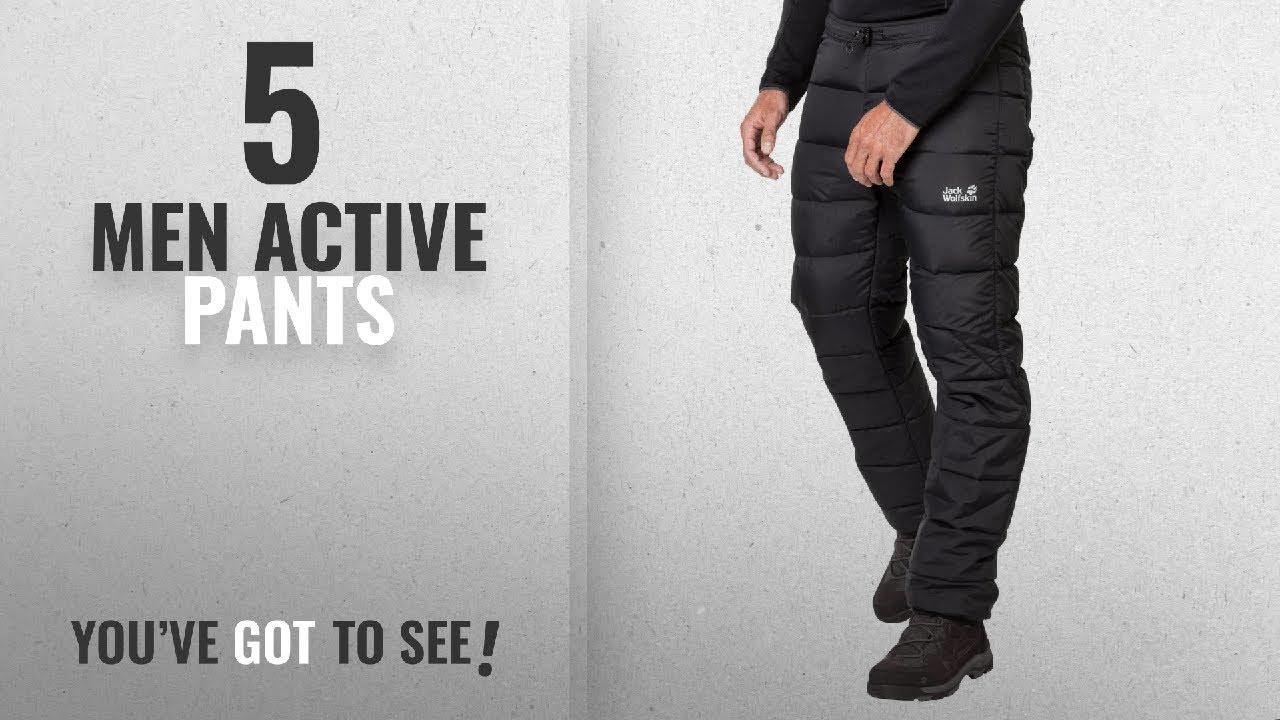 c9fced2ce8885 Jack Wolfskin Active Pants [ Winter 2018 ]: Jack Wolfskin Men's ...