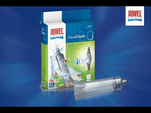 JUWEL Aquarium - AquaClean 2.0 -  filter and ground material cleaner - english