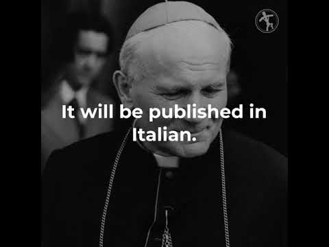 Pope Francis to publish a book with reflections on St. John Paul II