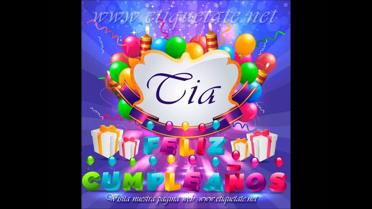 Feliz Aniversário Para Tia: FELIZ CUMPLEAÑOS