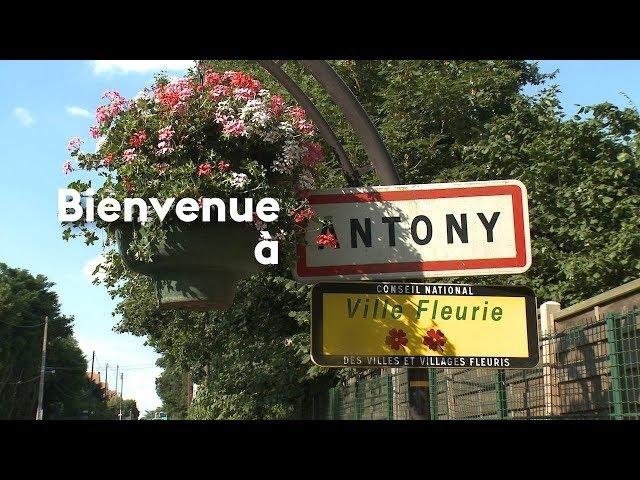 Présentation de la ville d'Antony 2018