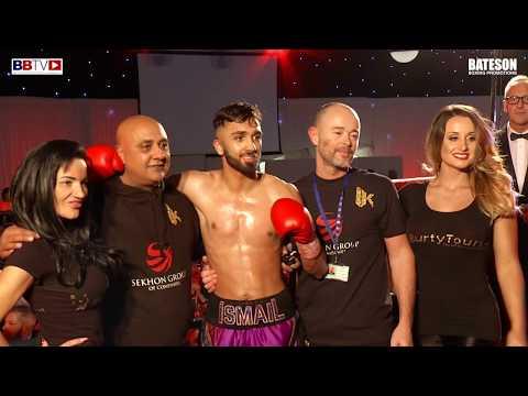 ISMAIL KHAN (DEBUT) VS JAKE POLLARD - BBTV - BATESON PROMOTIONS LEEDS