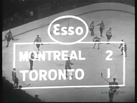 1960 NHL , Stanly Cup Final, 2 game, Montreal Canadiens- Toronto Maple Leafs (5)