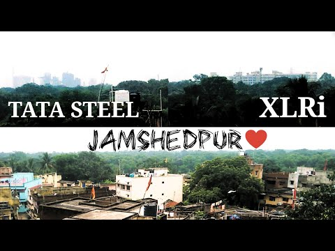 Whole Jamshedpur from a roof top!! Perfect Green City ♥️!!
