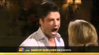 DOOL PROMO 11 14 11 EJ Dimera Sami Brady Fight & Kiss Days Of Our Lives Alison Sweeney James Scott