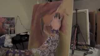 Научиться рисовать обнаженную, художник Сахаров, уроки живописи в Москве