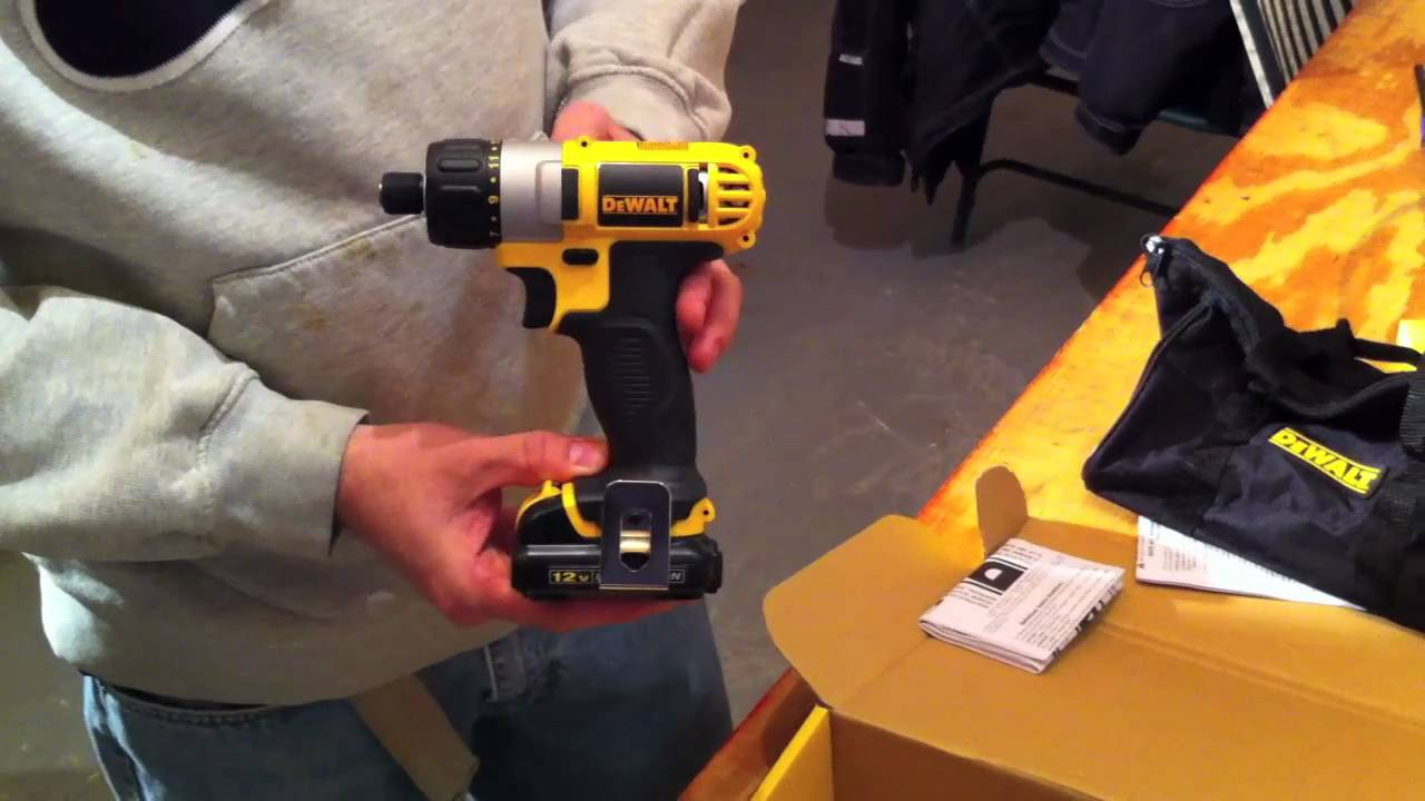 Dewalt 12V MAX Screwdriver Review - DCF610S2 - Tools In