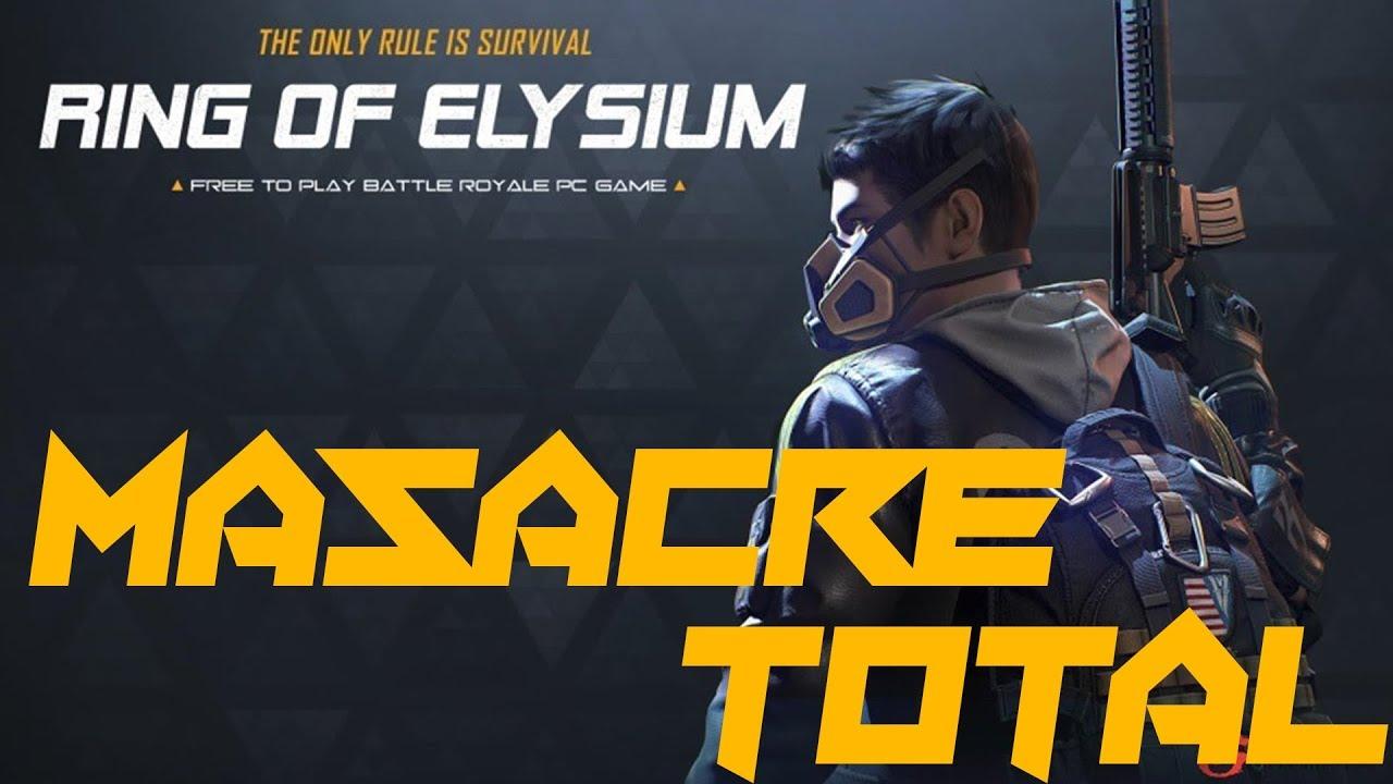 ROE - Win y Masacre Total Con el G28!! Ring of Elysium!!
