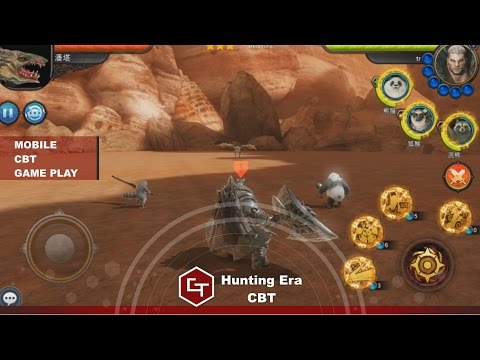 Hunting Era CBT - Game Play - (Youtube First ) (Mobile)(UE4 Games)
