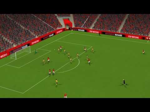 Man Utd 3-0 Arsenal - 比赛集锦
