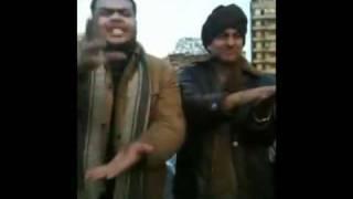 مستر نانا فى ثورة 25 يناير ميدان التحرير