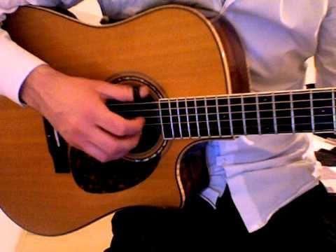 Acoustic guitar piece in DADGAD + tablature