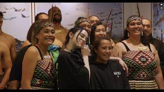 Welcome back to NZ Pōwhiri + Waiata for Billie Eilish