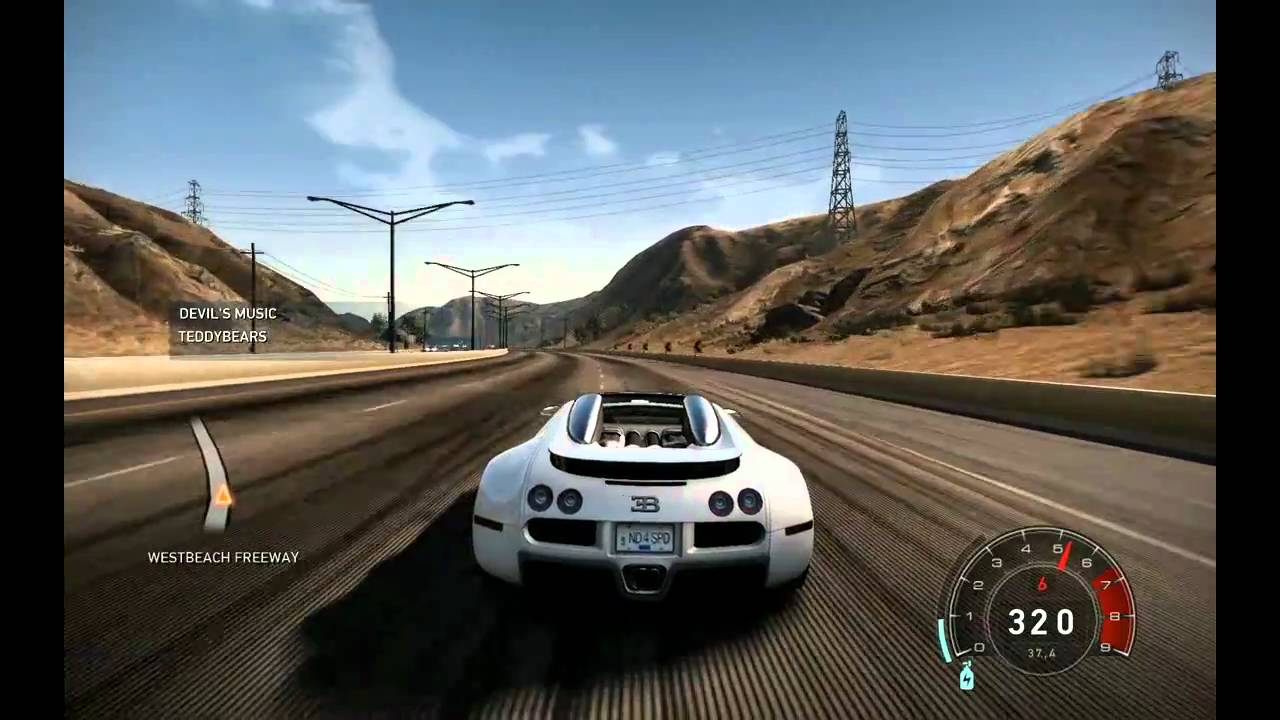 need for speed hot pursuit bugatti veyron hd pc youtube. Black Bedroom Furniture Sets. Home Design Ideas