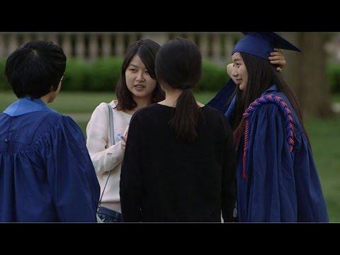 China student girl shot death after rear clash USA woman's car 19歲女留學生命殞美國悍婦槍下