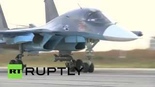 These are the Russian Sukhoi jets that combat ISIS