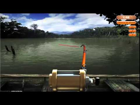 Free online fishing game youtube for Online fishing tournament