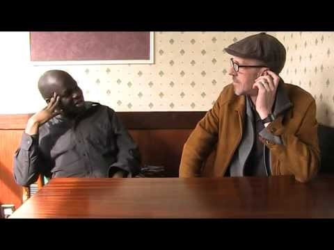 Comedians Daliso Chaponda and Bruce Morton talk about their experience in Nairn