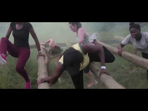 Challenging Obstacle race in Ghana - Military Style, Can you beat this ?