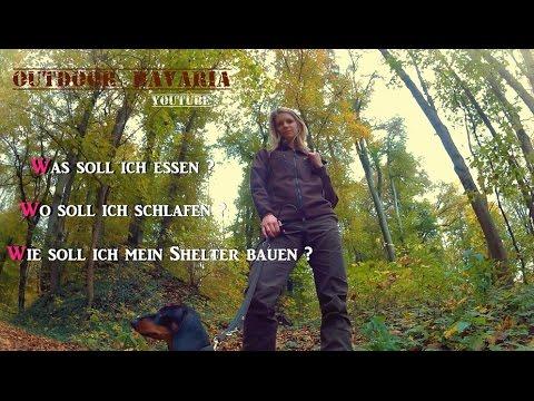 Vanessa Solotour 2.0  Das Shelter - Outdoor Bavaria - Teil 1