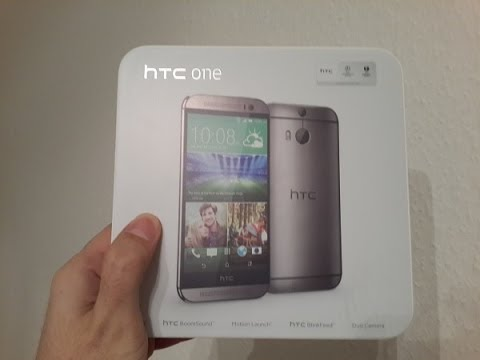 فتح صندوق HTC One M8