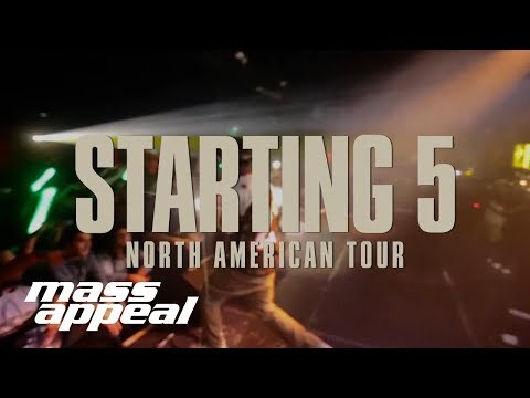 Mass Appeal's Starting 5 Tour Announcement Mp3