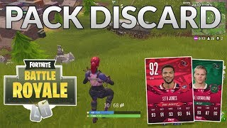 FORTNITE PACK DISCARD CHALLENGE!! (Different Objectives!?)