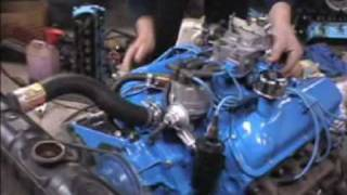 Firing First Time Ford 289 65 2 barrel Mustang Engine