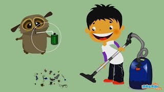 How does a Vacuum Cleaner Work? | Mocomi Kids