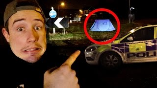 I Spent the Night on a Roundabout and the Police Were Called (Sleep on a Roundabout Challenge)