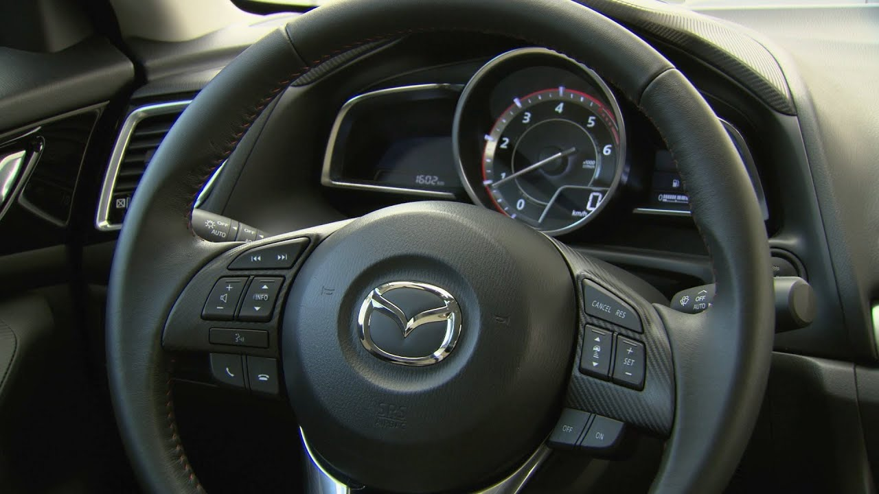 new 2014 mazda3 sedan - interior - youtube