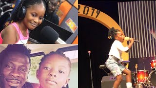 """Shatta Wale's Daughter """"Shatta Berry"""" Perform on Stage For the First Time"""