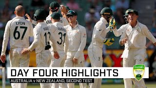 Aussies wrap up MCG Test, series over NZ | Second Domain Test v New Zealand