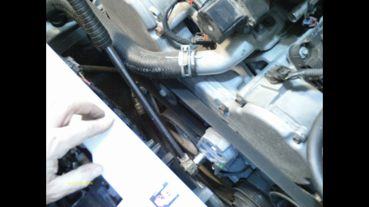 chrysler 300 3 5l timing belt and water pump replacement part 1 [ 1280 x 720 Pixel ]