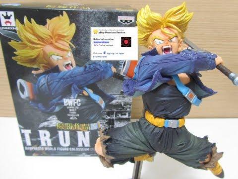 Dragon Ball DBZ Super Saiyan Trunks BWFC Banpresto World Figure Colosseum Figurine トランクス フィギュア FOJ